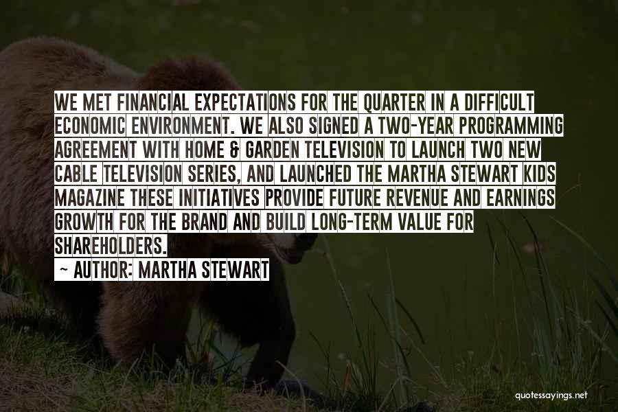 New Year Garden Quotes By Martha Stewart