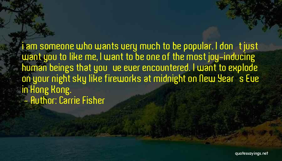 New Year New You Quotes By Carrie Fisher
