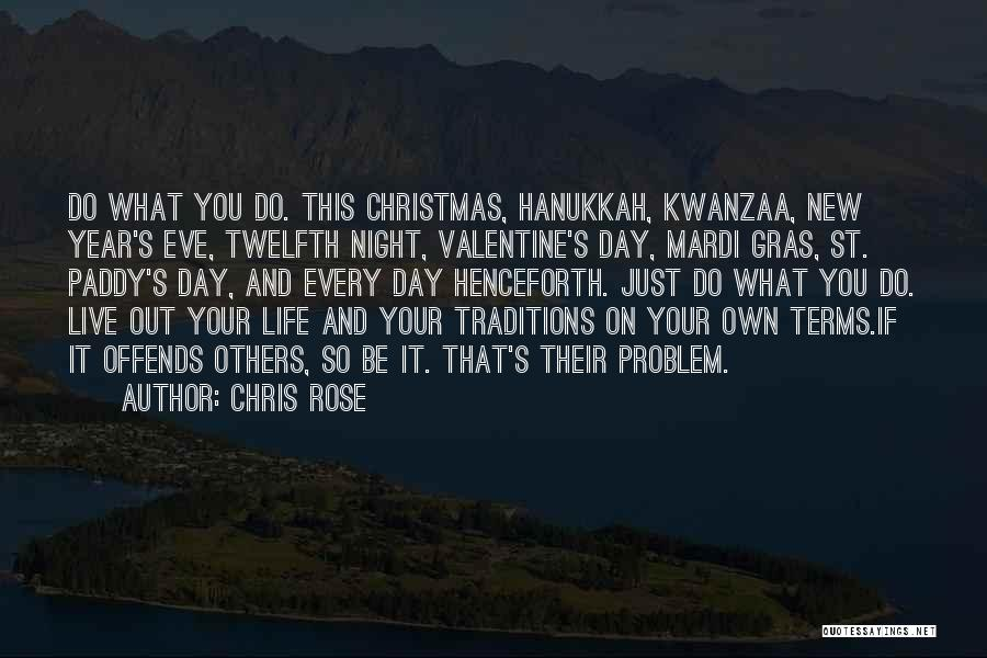 New Year New You Quotes By Chris Rose