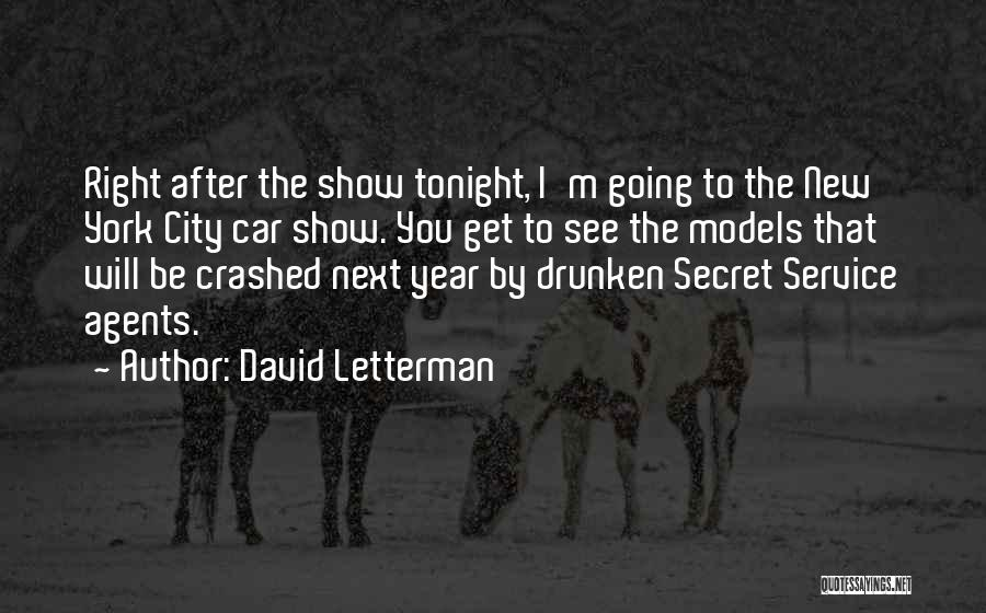 New Year New You Quotes By David Letterman