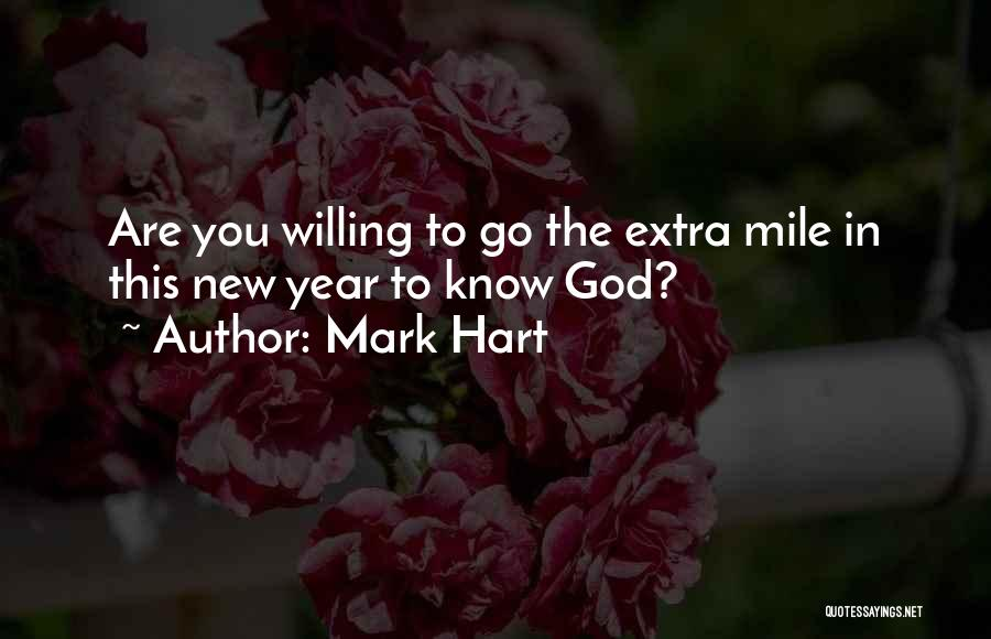 New Year New You Quotes By Mark Hart