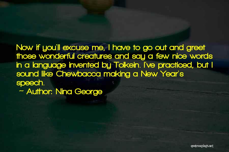 New Year New You Quotes By Nina George