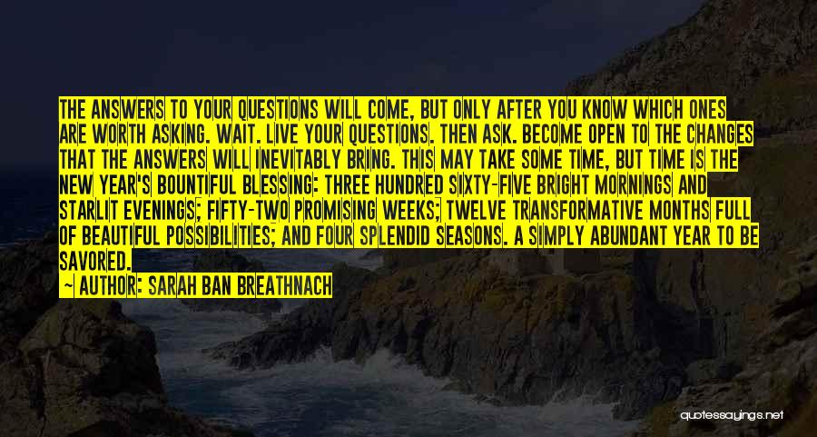 New Year New You Quotes By Sarah Ban Breathnach