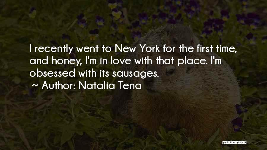 New York And Love Quotes By Natalia Tena