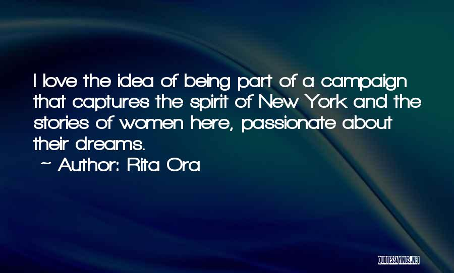 New York And Love Quotes By Rita Ora