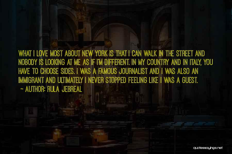 New York And Love Quotes By Rula Jebreal