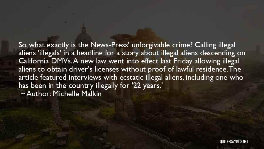 News Article Quotes By Michelle Malkin