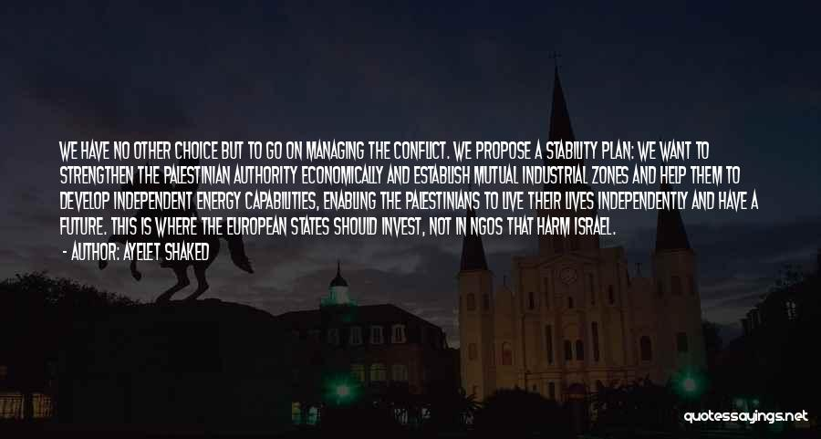Ngos Quotes By Ayelet Shaked