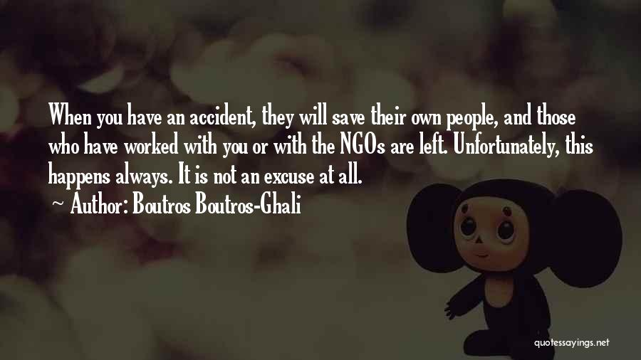 Ngos Quotes By Boutros Boutros-Ghali