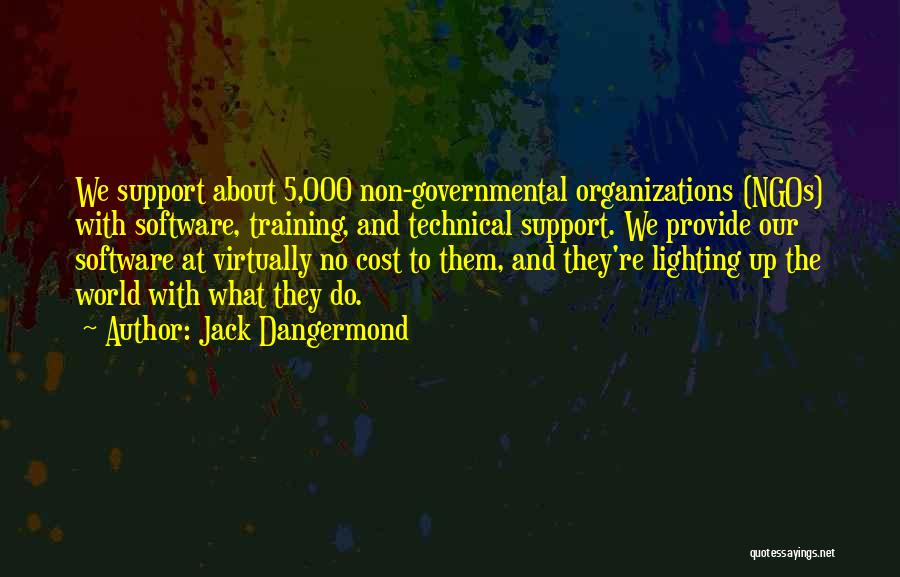 Ngos Quotes By Jack Dangermond
