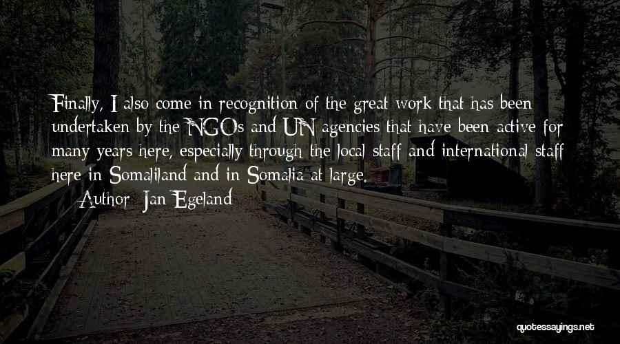 Ngos Quotes By Jan Egeland