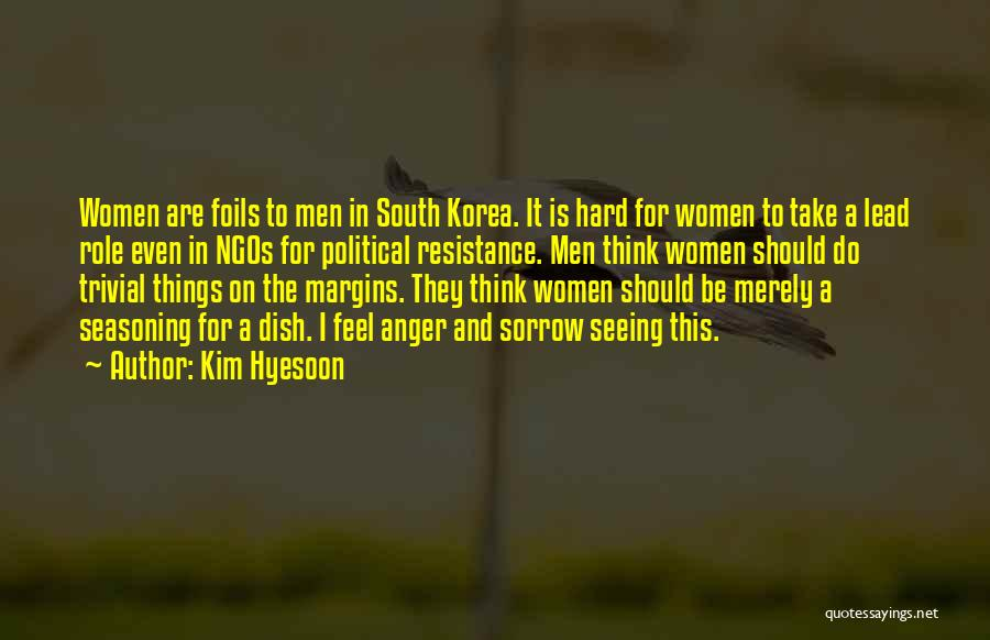 Ngos Quotes By Kim Hyesoon