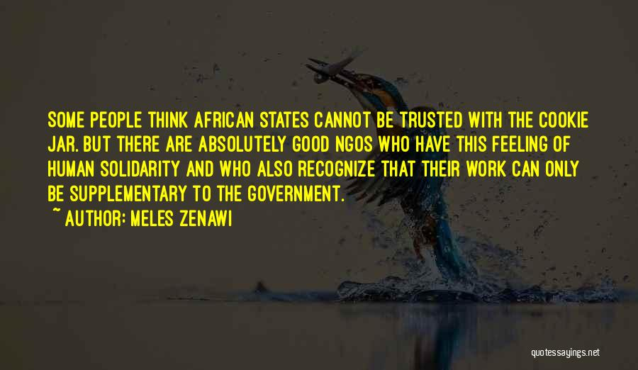 Ngos Quotes By Meles Zenawi