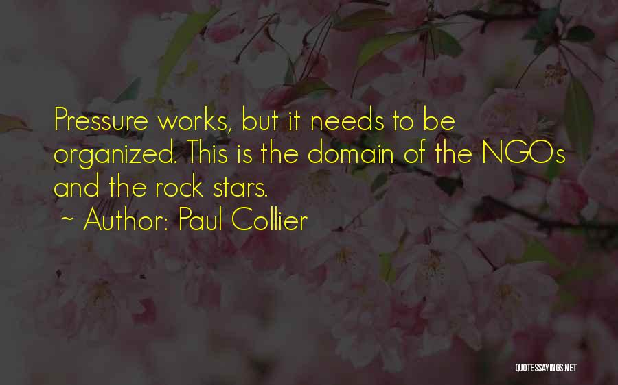Ngos Quotes By Paul Collier