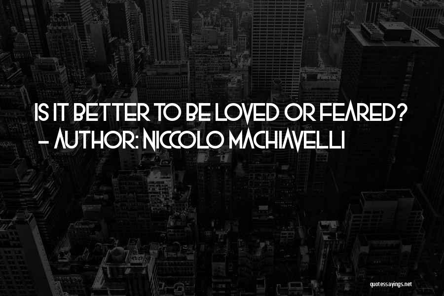 Niccolo Machiavelli Quotes 1425121