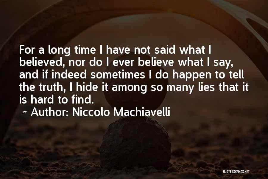 Niccolo Machiavelli Quotes 1636211