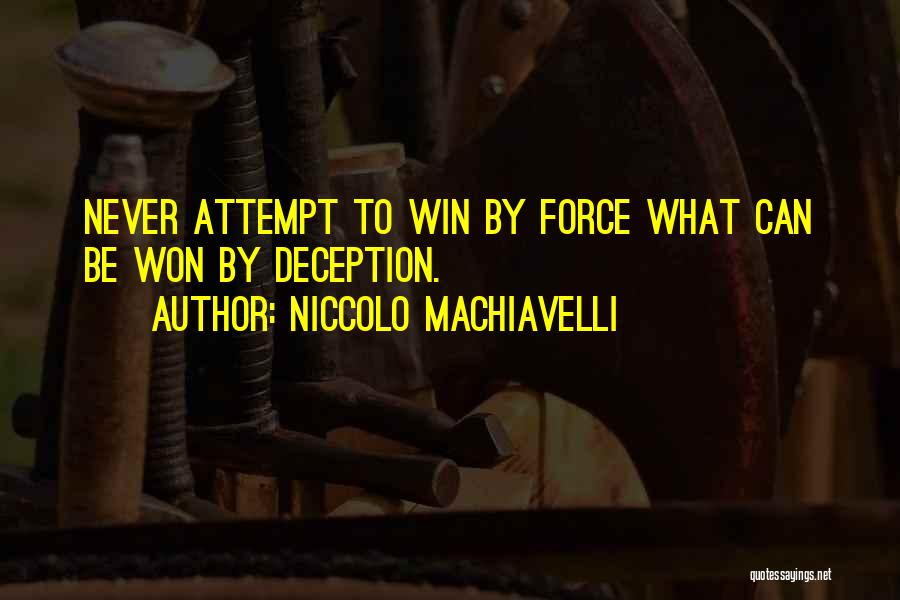 Niccolo Machiavelli Quotes 2083876