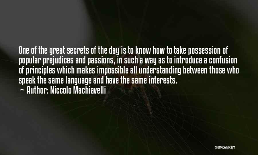 Niccolo Machiavelli Quotes 775483