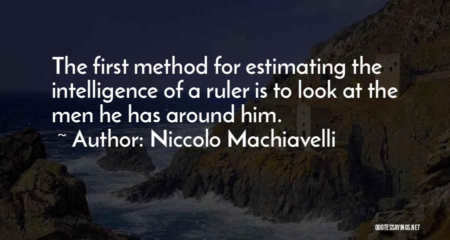 Niccolo Machiavelli Quotes 906351