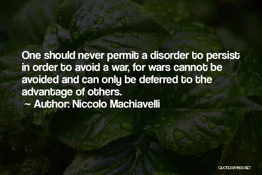 Niccolo Machiavelli Quotes 99745