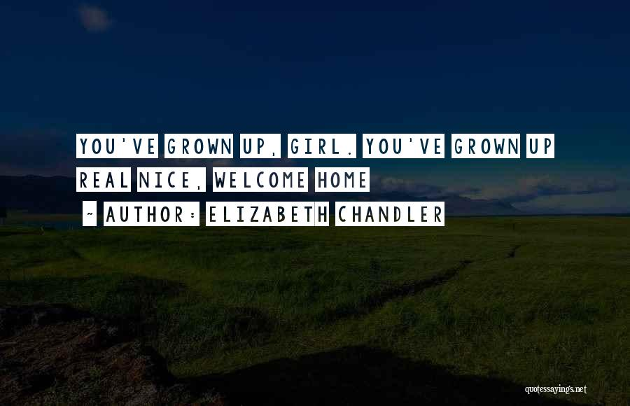 Nice Girl Quotes By Elizabeth Chandler