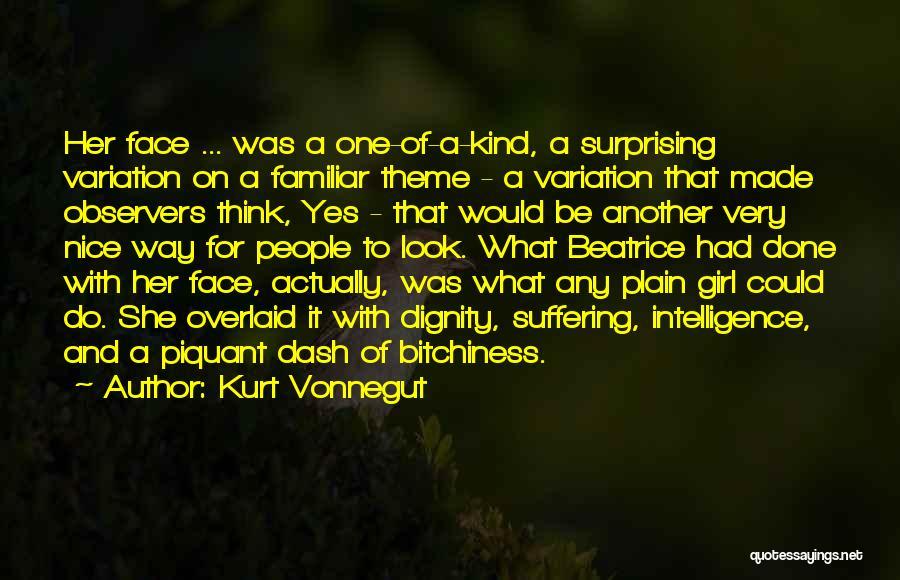 Nice Girl Quotes By Kurt Vonnegut