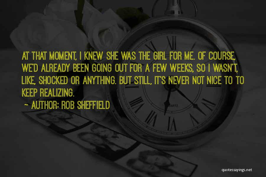 Nice Girl Quotes By Rob Sheffield