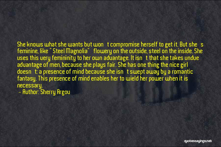 Nice Girl Quotes By Sherry Argov