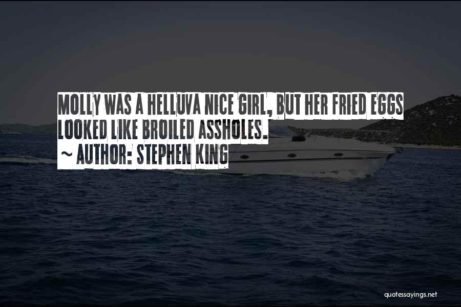 Nice Girl Quotes By Stephen King