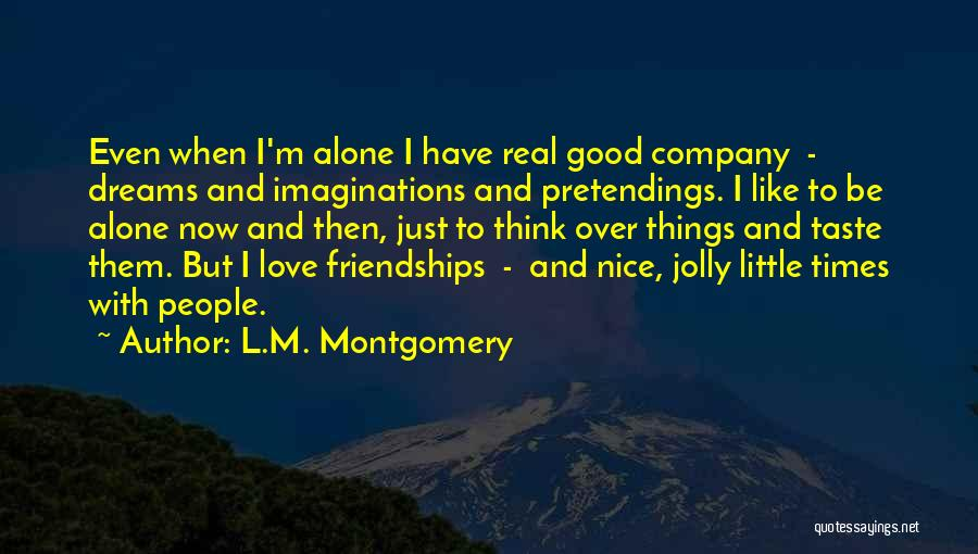 Nice Jolly Quotes By L.M. Montgomery