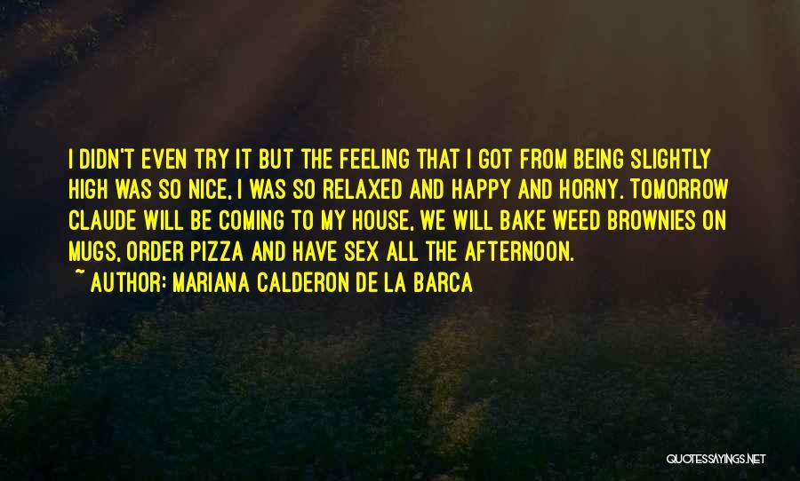 Nice To Be Happy Quotes By Mariana Calderon De La Barca
