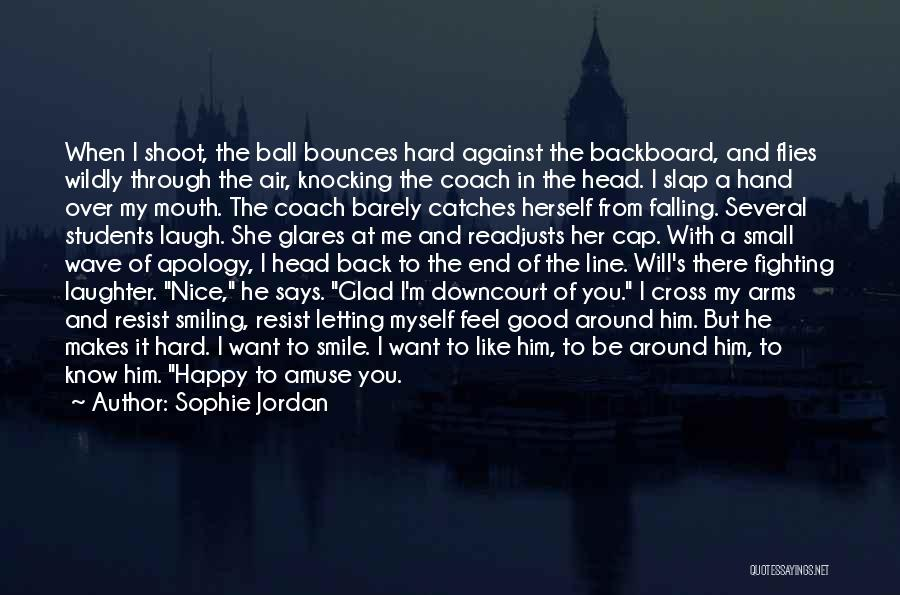 Nice To Be Happy Quotes By Sophie Jordan