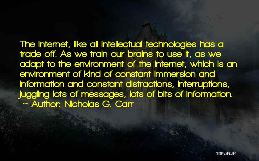 Nicholas G. Carr Quotes 1055663