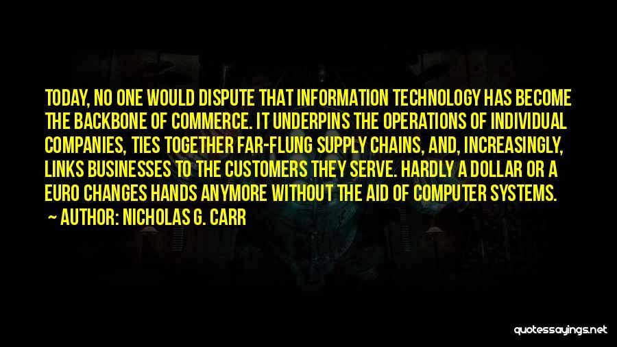 Nicholas G. Carr Quotes 2046425
