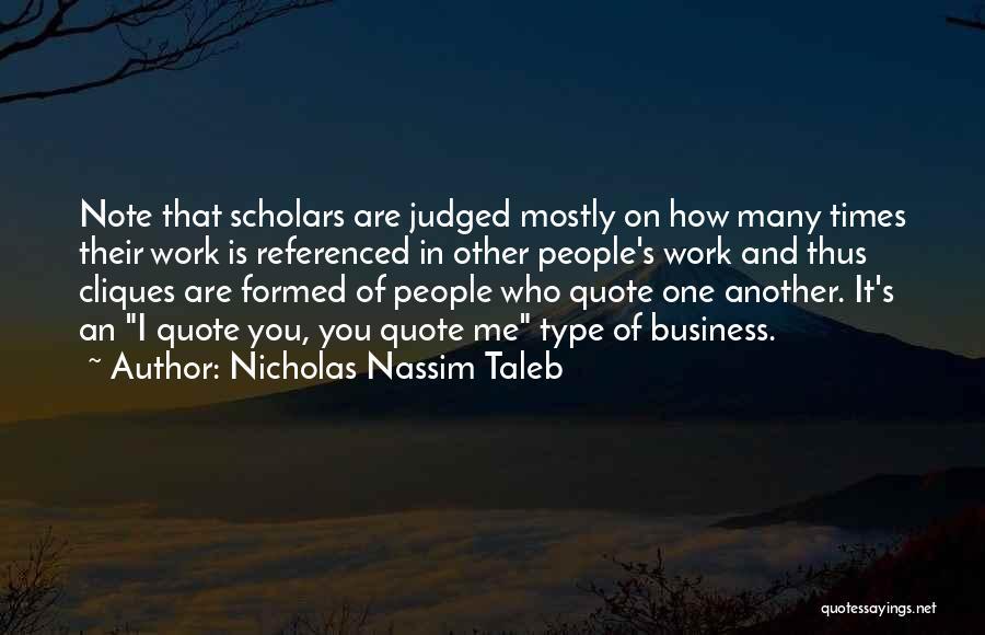 Nicholas Nassim Taleb Quotes 884933