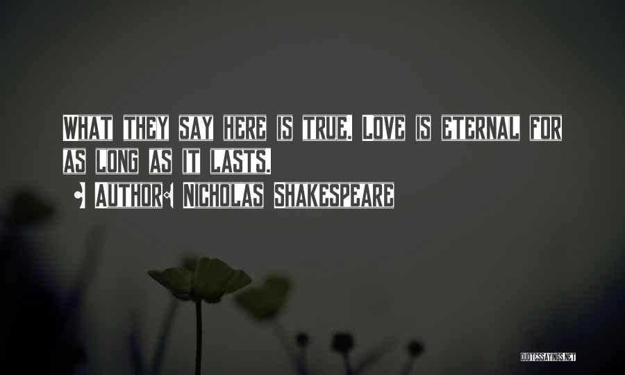 Nicholas Shakespeare Quotes 1135080