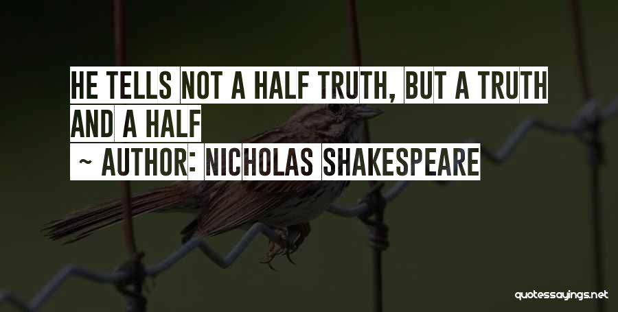 Nicholas Shakespeare Quotes 1222932