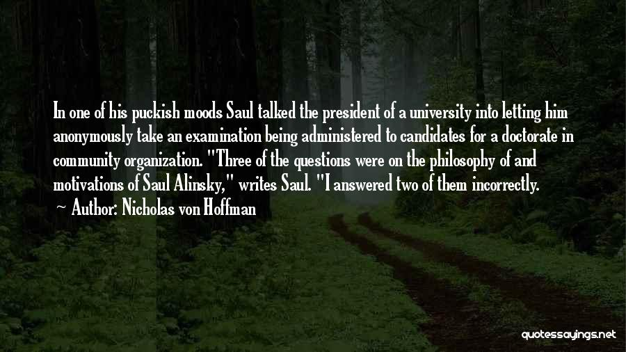 Nicholas Von Hoffman Quotes 932090