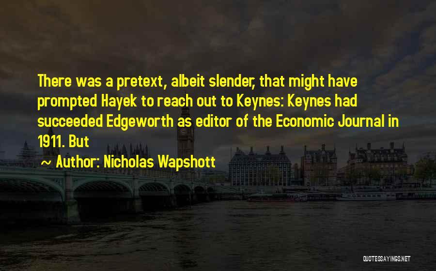 Nicholas Wapshott Quotes 1257951