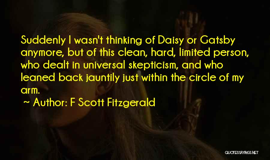 Nick From The Great Gatsby Quotes By F Scott Fitzgerald