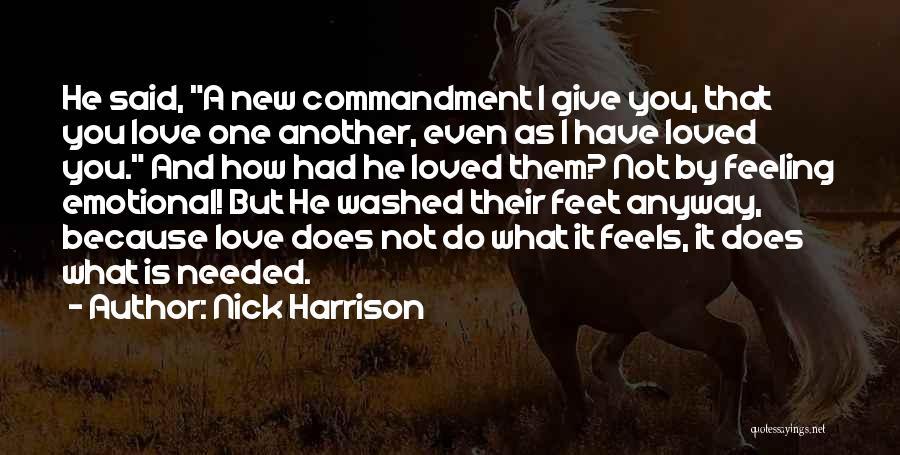 Nick Harrison Quotes 1320685