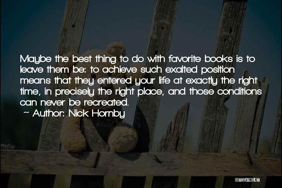 Nick Hornby Quotes 1321994