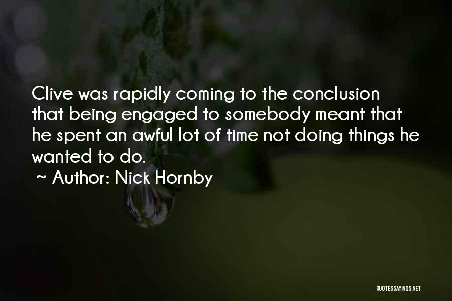 Nick Hornby Quotes 1358874