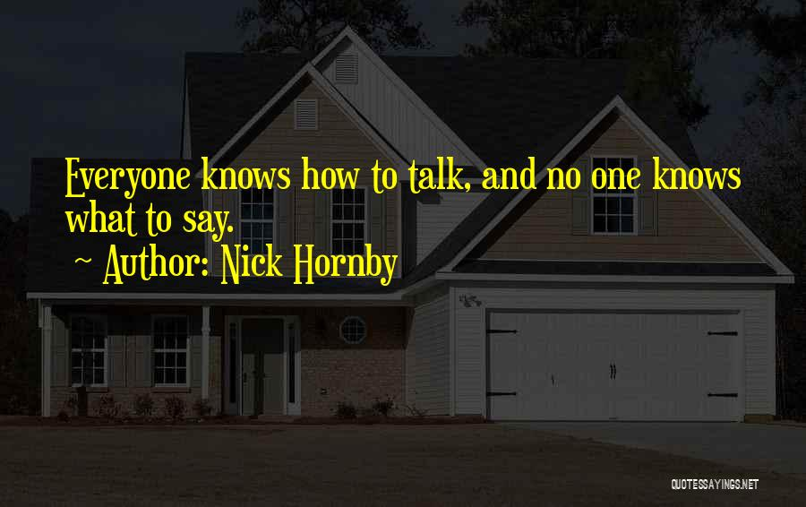 Nick Hornby Quotes 1782541