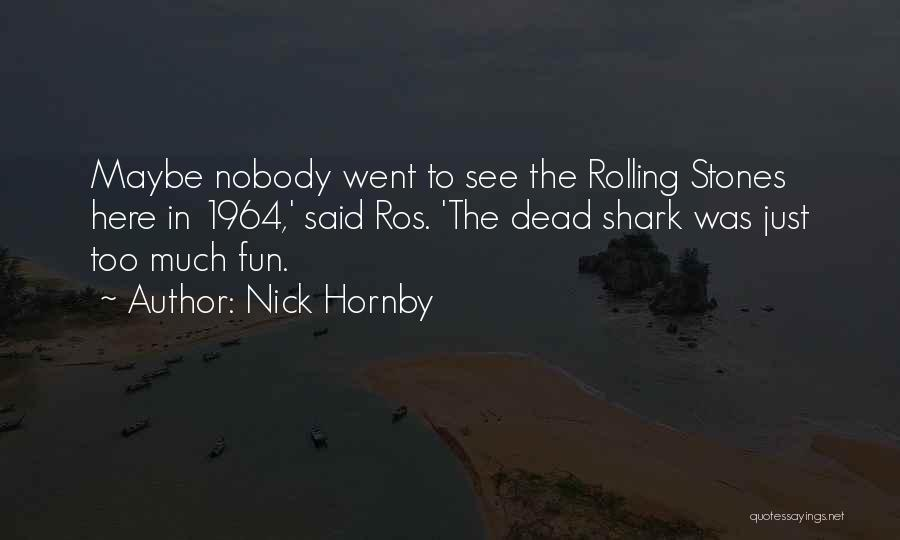 Nick Hornby Quotes 1963390