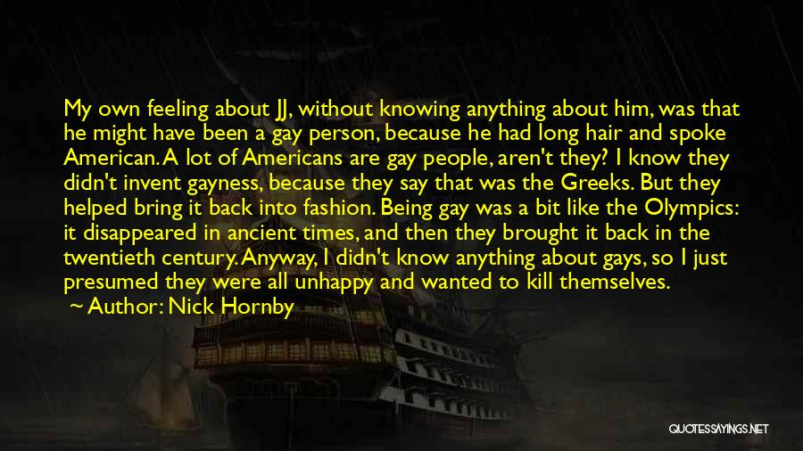Nick Hornby Quotes 223131