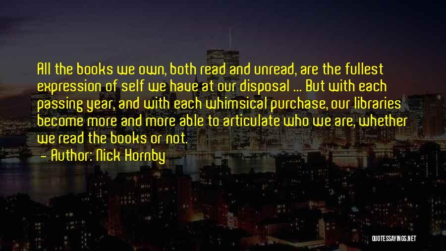 Nick Hornby Quotes 259203