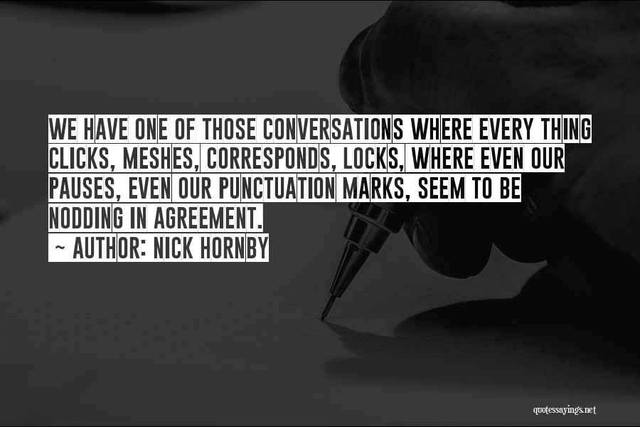 Nick Hornby Quotes 460918
