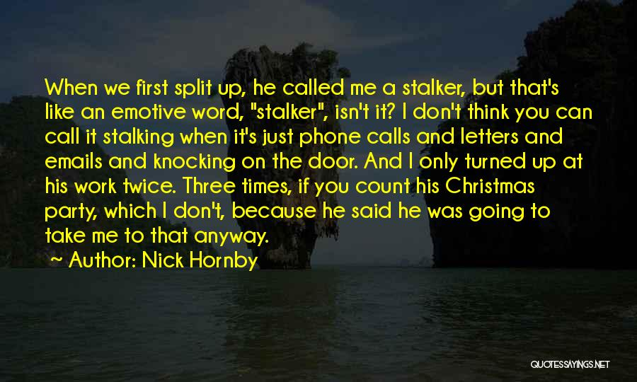 Nick Hornby Quotes 706821