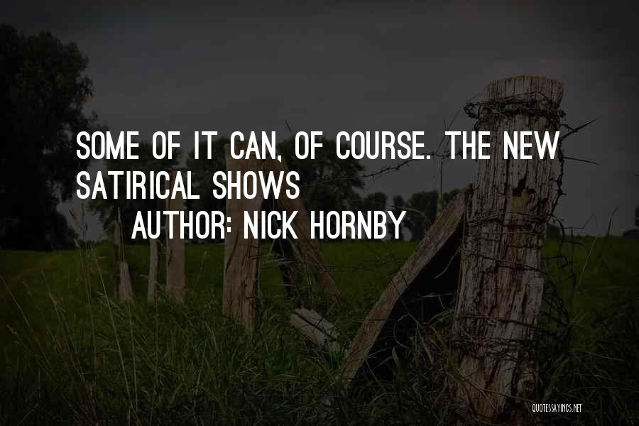 Nick Hornby Quotes 81222